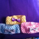 DESIGNS BY AMY ADORABLE BABY CAMOFLAUGE HEADBAND.CHOOSE COLOR