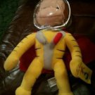 "NWT Curious George Space Man 14"" Tall Stuffed Plush Character -"