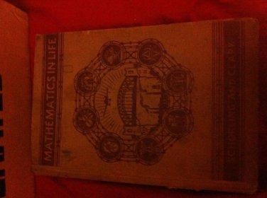 Vintage Textbook, Mathematics In Life, Schorling & Clark, 1937 Hardcover