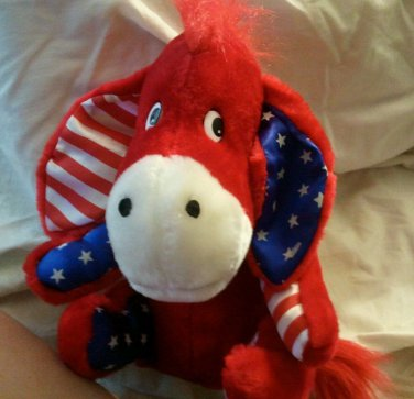 Rare Eyore all american Donkey Stuffed Animal Plush