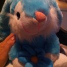 Hard To Find Cute Kelly Toy Blue Bunny Rabbit Holding A Flowe plush