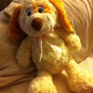 Ecwt Adorable PUPPY PLUSH TAN AND BROWN FLOPPY DOG