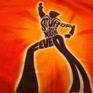 Groovy Htf Rare SATURDAY NIGHT FEVER Orange small T shirt 1970s Travolta disco