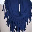 Designs By Amy One Of A Kind Infinity Scarf~Rare Choose Black,gray,camo Handmade