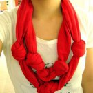 Designs By Amy 1Of A Kind double Layered Knotted ScArf Handmade