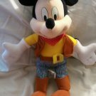 Disney Cowboy Mickey Mouse Plush