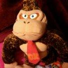 "ECWT Nintendo Super Mario Brothers Mario Party 12"" Plush (chenille) Donkey Kong"