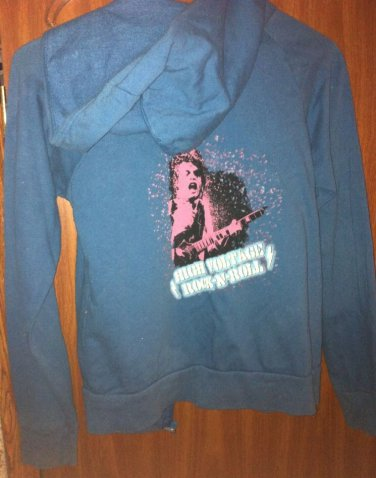 AC/DC High Voltage Full Zip Hoodie Jacket Size Small