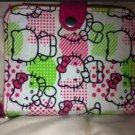 Pink HelloKitty Cute Girl Lady Short  Wallet Bag Card Holder