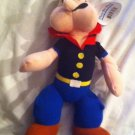 """Popeye The Sailor Man- Plush Doll - 10"""" Tall - New with Tag - Fast Shipping US!"""