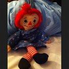 """Raggedy Ann doll by Johnny Gruelle 12"""" 1996"""
