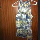Fab B-wear Byer California XL Tank Top Dress Blouse Sleeveless Shirt Multi Color