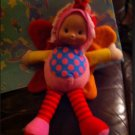 """12"""" Colorful Butterfly w/ 2-Color Wings Plush Baby Doll from Hong Kong City Toys"""