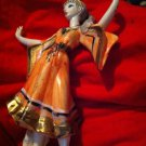 Vintage Porcelain Grecian Greek Woman Figurine
