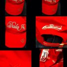 EUCw/tag Dale Jr. NASCAR 8 Red Cotton Adjustable Baseball Hat Chase Authentic