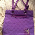 EUC Disney Tinker Bell Purple Tote Purse