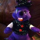 Adorable Halloween Wizard/witch Black Mouse Plush