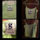 MSU Adult Sports Gear Tank Top Collegiate Mississippi State Ladies Built In Bra