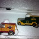 SNAKE RIVER/RIVER HORSE BREWERY SET 2 CARS W/CERT AUTH.