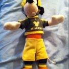 Disney Goofy I love Wisconsin Cheesehead SEGA Stuffed Plush Toy Packers color