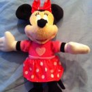 Disney Minnie Mouse Plush Doll  Stuffed Toy Pink Dress