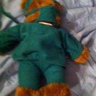 CINNAMON BROWN TEDDY BEAR SURGEON DOC OR GREEN SCRUBS HOSPITAL UNIFORM PLUSH
