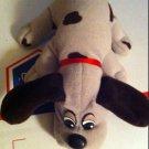 TONKA GREY GRAY & BROWN POUND PUPPIES PUPPY DOG PLUSH