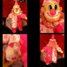 Rare Plush Appeal Pink Clown Doll Stuffed Toy Boys Girls All Age