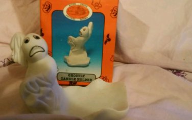 Ghostly candle holder NIB