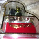 Clear Acrylic Baby Grand Piano Musical Jewelry Box - Plays Lullaby Go To Sleep