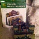 John Deere Farm Scene Business Card Holder - NIB