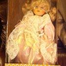 "Beautiful Crowne Porcelain Doll Rare W/Box"" 1998"