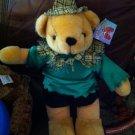 Adorable Halloween Scarecrow  Bear Plush
