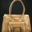 Camel Vintage European Tote Handbag Purse Fashion Bag
