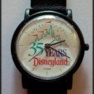 WRIST new WATCH- DISNEYLAND BY LORUS 35YRS #410 Free shipping