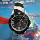 Brand new Hot fashion jelly new watch Women Black  #368 free shipp