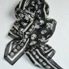 Classic fashion ladies Temperament skull scarf #37 Free shipping