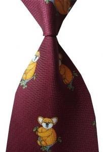 Fantastic koala necktie new #63 Free shipping