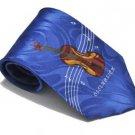 New Jacquard Woven Silk Men's guitar Necktie #75