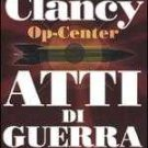 Italy Book : Tom Clancy Atti di guerra libro #22
