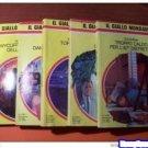 5 romanzi Gialli Mondadori italian book libro