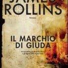 Italy Book : James Rollins Il marchio di Giuda libro book #25