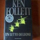 Italy Book Ken Follett :un letto di leoni.#20 libro