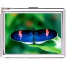 H5S668 Cigarette Case with lighter Butterfly Animal Picture Free shipping