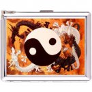 H5S525 Cigarette Case with lighter Yin Yang Picture Free shipping