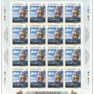 Canada - 1999 Sailing Ship Marco Polo Sheet mnh