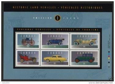 Canada 1490 MNH Vintage Cars