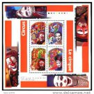CANADA 1998 The Circus Souvenir Sheet Mint NH #1760b