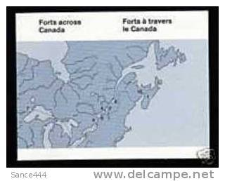 Canada BK86 (992a) complete booklet - Forts