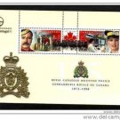"CANADA, 1998, ""RCMP-125TH ANNIV"" 50 S/S W/OVPT PORTUGAL"